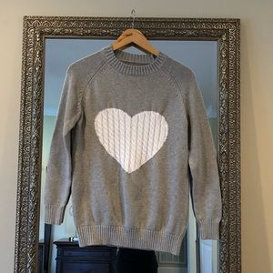 Sweaters - Heart Valentine Sweater - small